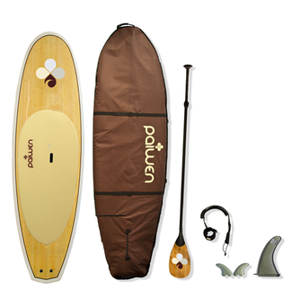 Bamboo Stand Up Paddleboard package