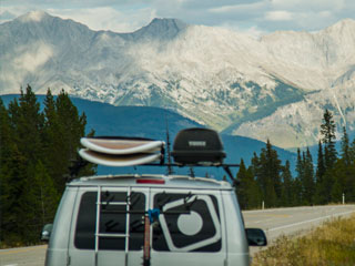 Beautiful-Paddle-Board-Van-Camping