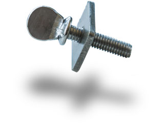 center fin thumb screw for paddleboard and longboard