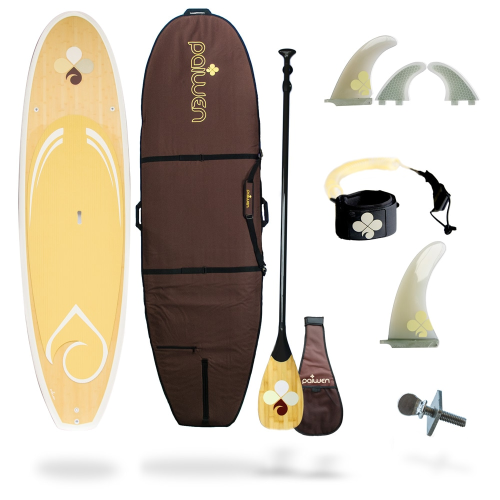 buy all around lightweight bamboo paddle board for women