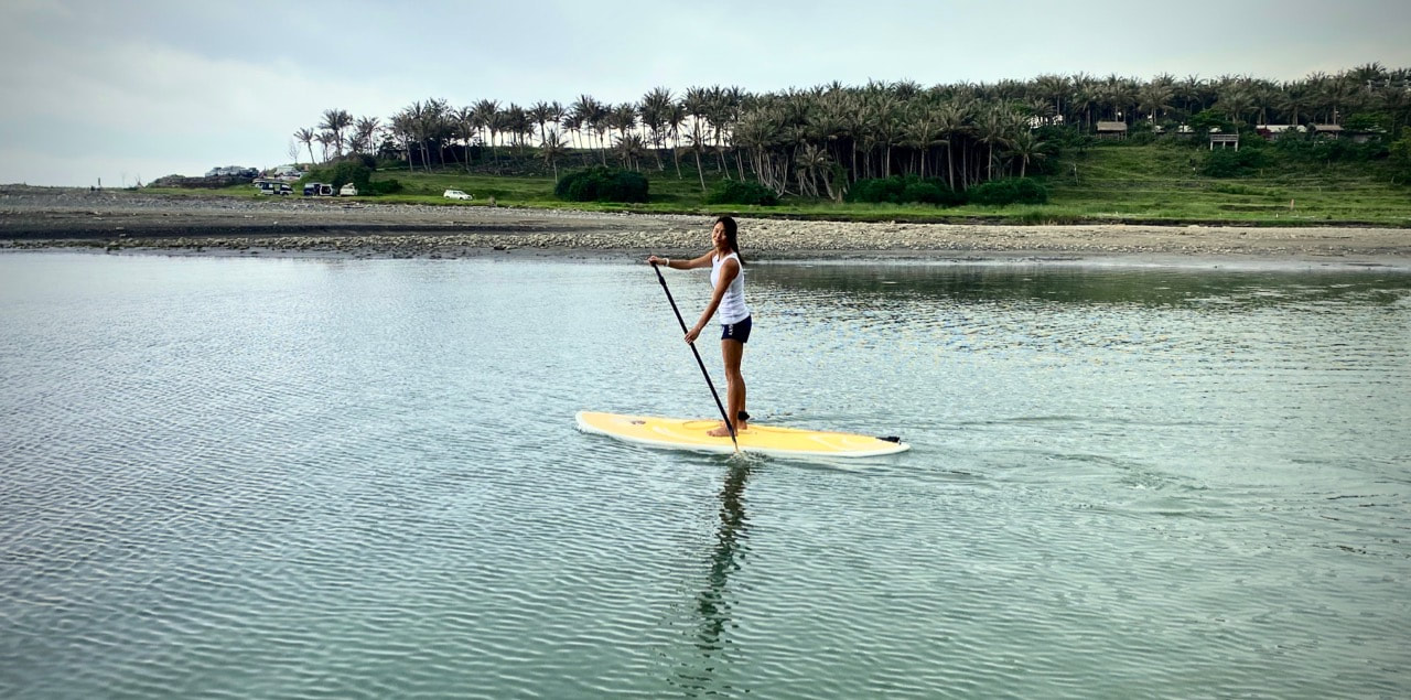 Taiwan DongHe river sup